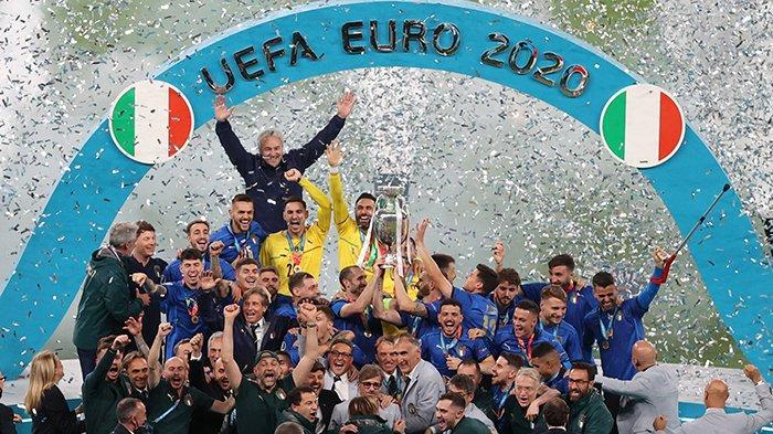 FAKTA Final EURO 2020 Italia Juara Piala Eropa usai Taklukkan Inggris di Hasil Final EURO