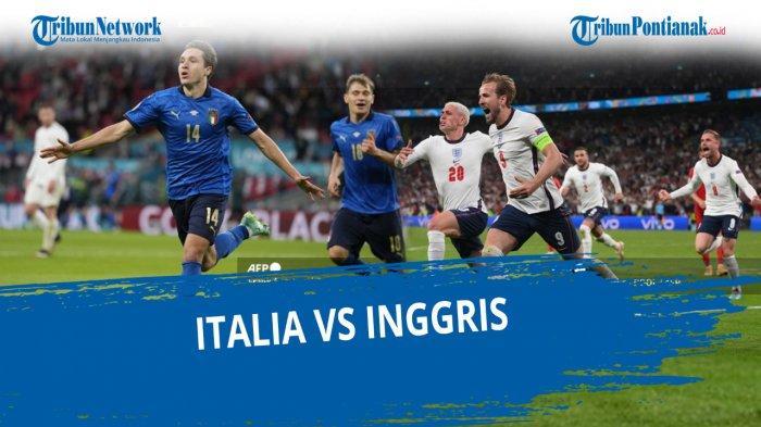 LIVE INGGRIS VS ITALIA, Streaming RCTI Final Euro Malam Ini Italia Vs Inggris & Cek Live Score Italy