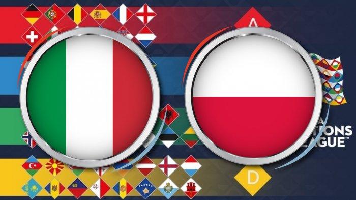 Link Live Streaming Supersoccer.tv (Free) Italia Vs Polandia UEFA Nations League Jam 01.45 WIB