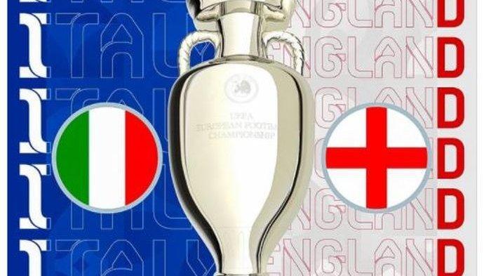 Hasil Final Euro 2020 Italia Vs Inggris Live RCTI MolaTV Tengah Malam Ini, Kane Libas Rekor Ronaldo