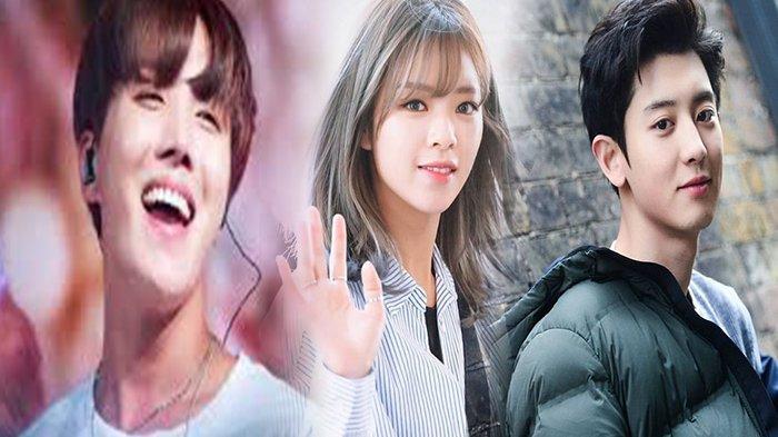 J-Hope BTS hingga Chanyeol EXO, Inilah Deretan 7 Idola K-Pop yang Jadi 'Penengah' di Grup Mereka