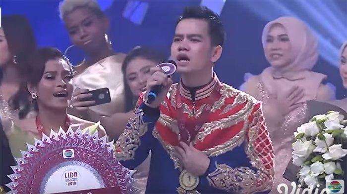 Jadi Sang Juara LIDA 2019, Faul Nyanyikan Lagu Kemenangan 'Bersinar Dalam Jiwa'