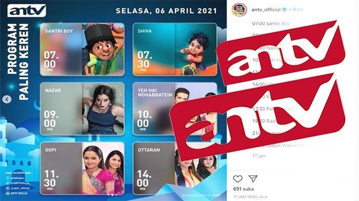 JADWAL ANTV 6 April 2021, Tonton Aksi Pemain Uttaran Yuvraj Uttaran dan Aman Uttaran | Mivo Tv ANTV