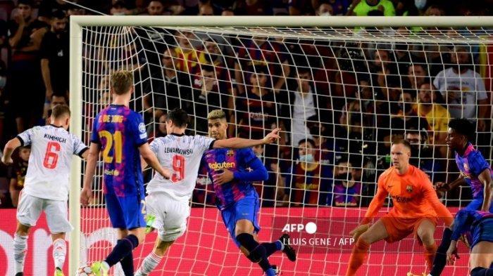 JADWAL Barcelona 2021 di Liga Champions Usai Dipermalukan Bayern Munchen, Vs Benfica dan Dynamo Kiev