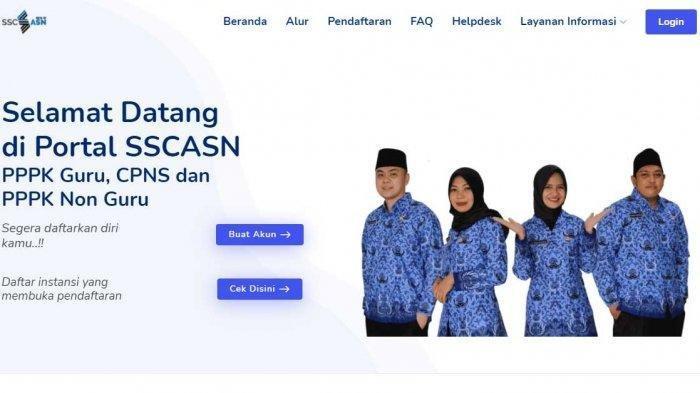 CONTOH Surat Lamaran CPNS Sambas 2021, Ini Persyaratan CPNS Sambas 2021 sscasn.bkn.go.id Login