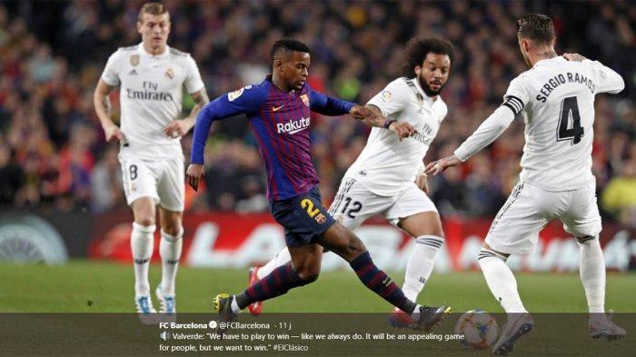 Jadwal El Clasico Real Madrid Vs Barcelona: Semifinal Leg 2 Copa Del Rey Berlangsung Jam 03.00 WIB