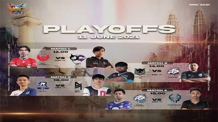 Jadwal EVOS dan BTR di Playoff MSC 2021 Besok Jumat 11 Juni 2021, Cek Hasil MSC 2021 Terbaru