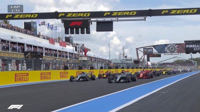 Jadwal F1 Prancis 2019, Ketangguhan Lewis Hamilton dan Insiden Valtteri Bottas di Formula 1 Prancis