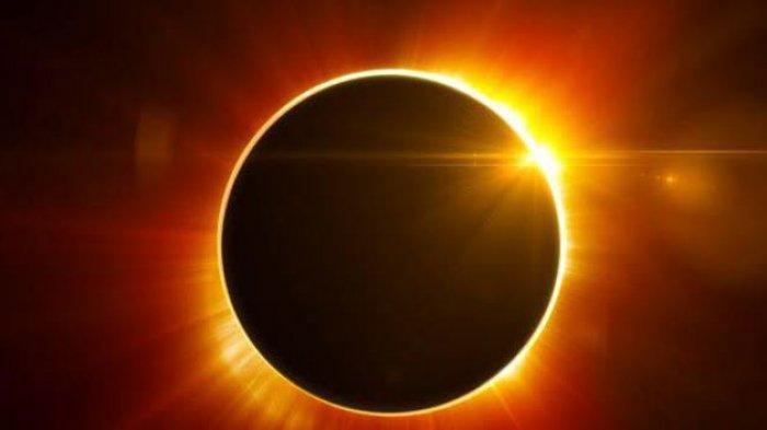 PENAMPAKAN Gerhana Matahari Cincin Api Sore Ini Kamis 10 Juni, Tidak untuk Dilihat Mata Telanjang