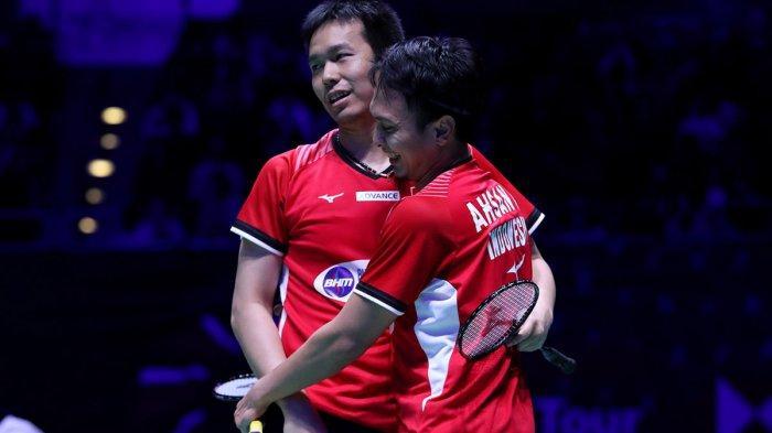 INDONESIA OPEN - Sebulan Fokus Benahi Fisik, Ahsan/Hendra Enggan Umbar Kans Juara Meski Unggulan