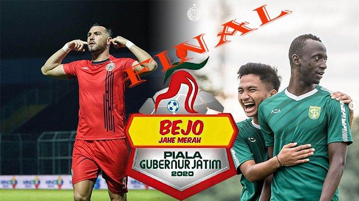 JADWAL Final Piala Gubernur Jatim 2020, Persebaya Vs Persija   Drama 6 Gol Antar Bajul Ijo ke Final