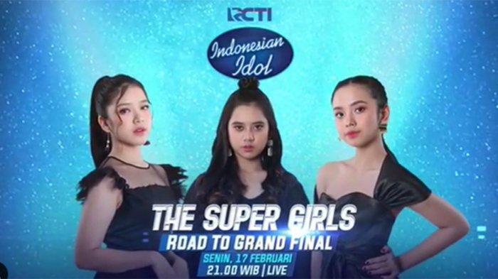 JADWAL Indonesian Idol Senin 17 Februari 2020, Tiara, Lyodra & Ziva Bersaing di Road To Grand Final