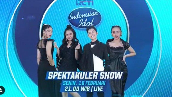 SEDANG Berlangsung Live Streaming Indonesia Idol X Live RCTI+, Aksi Nuca Lyodra Tiara & Ziva Top 4