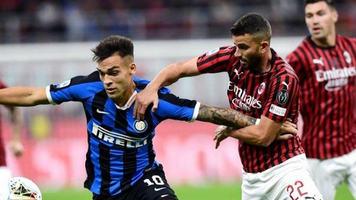 Head to Head AC Milan vs Inter Milan Liga Italia - 5 Laga Skor 1-4, Waspada Tren Menurun Rossoneri
