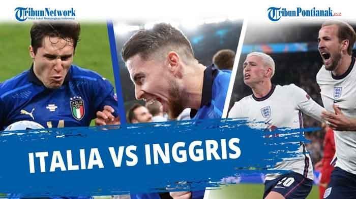Jadwal Italia vs Inggris Final EURO 2021 Live MNCTV dan Mola TV