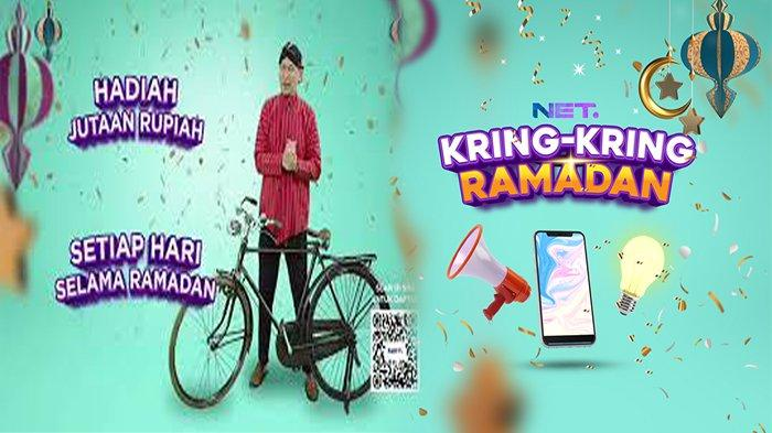 JADWAL Kring Kring Ramadhan NET TV, Dapatkan Motor dan Jutaan Rupiah Setiap Harinya