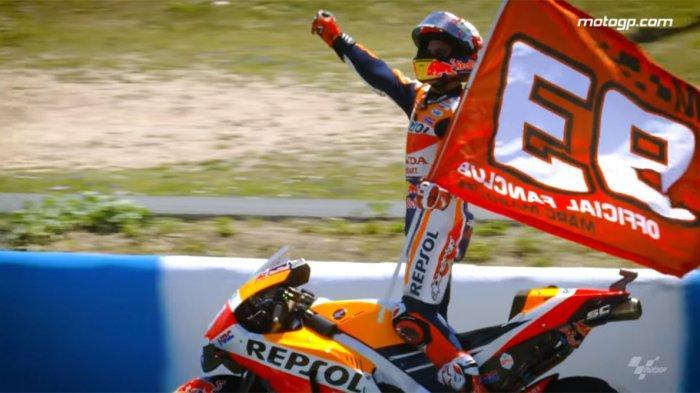 LINK Live Streaming MotoGP Italia Pukul 18.00, Marquez Pole Position, Lorenzo-Rossi Urutan 17 &18;