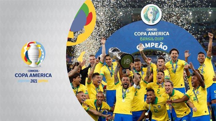 Ilustrasi Copa America 2021.