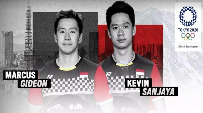 Jadwal Lengkap Live Badminton Olimpiade Tokyo Hari Ini, Marcus/Kevin Sedang Bertanding