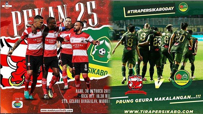 PREDIKSI Madura United Vs PS Tira Shopee Liga 1 | Head to Head Line Up Hingga Skor,Ancaman Set Piece