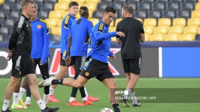 JADWAL Liga Champions 2021 Live SCTV Malam Ini, Magis Cristiano Ronaldo di Young Boys Vs Man United