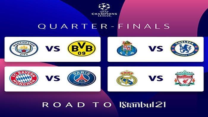Jadwal Liga Champions Live SCTV Sports Malam Rabu-Kamis Ini Liverpool Vs Madrid & Munchen Vs PSG