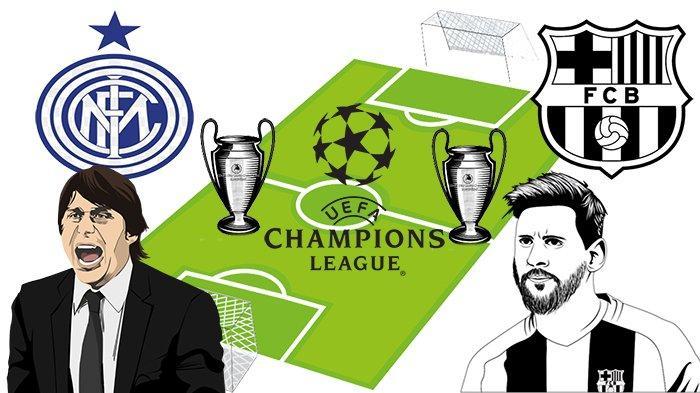Jadwal Liga Champions Malam Ini, Klasemen Liga Champion | Inter Vs Dortmund, Barcelona Main Terakhir