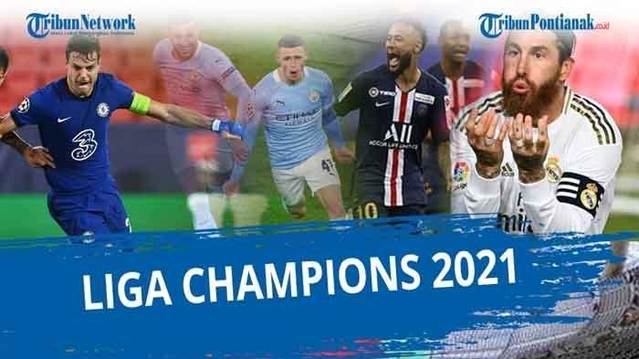 STREAMING SCTV PSG Vs Manchester City, Nonton Live Streaming Online Semifinal Liga Champions 2021