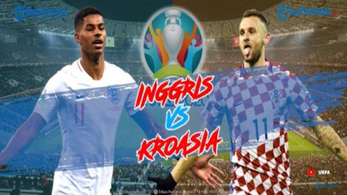 LIVE Score Inggris Vs Kroasia Hasil EURO 2021 Terbaru Live MNC TV & Mola TV Jam 20.00 WIB Malam Ini