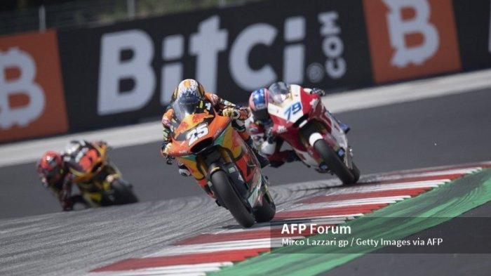 HASIL Moto2 Aragon Spanyol Malam Ini 12 September 2021, Sam Lowes Gagal Juara & Bezzecchi Crash