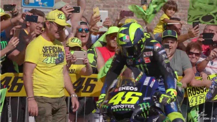 Jadwal MotoGP 2019 dan Link Live Streaming Trans7: Memori Manis Valentino Rossi di Sirkuit Misano