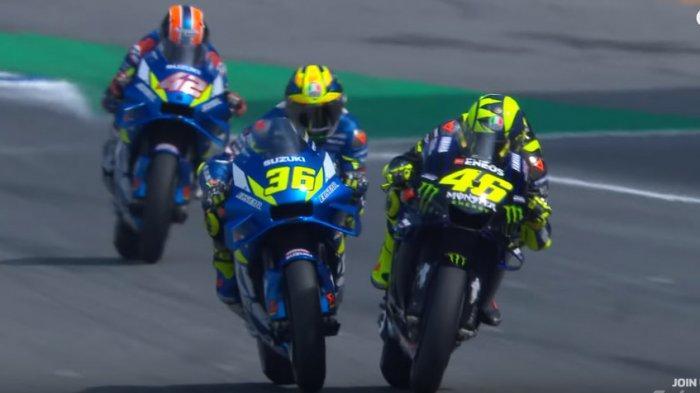 Jadwal MotoGP 2019 di Jepang Siaran Langsung Trans7: Bisakah Valentino Rossi Rebut Juara Dua?