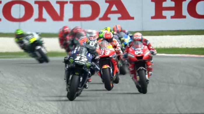 SEDANG Berlangsung, STREAMING MotoGP Valencia 2019 - Duel Quartararo, Marquez, Rossi dan Lorenzo