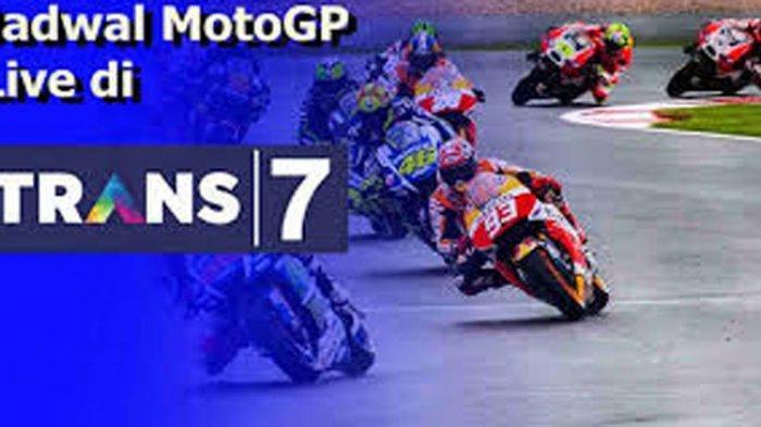 JADWAL MOTOGP 2021 dan Siaran MotoGP Hari Minggu Live MotoGP Trans 7 & Update Nama Pebalap MotoGP