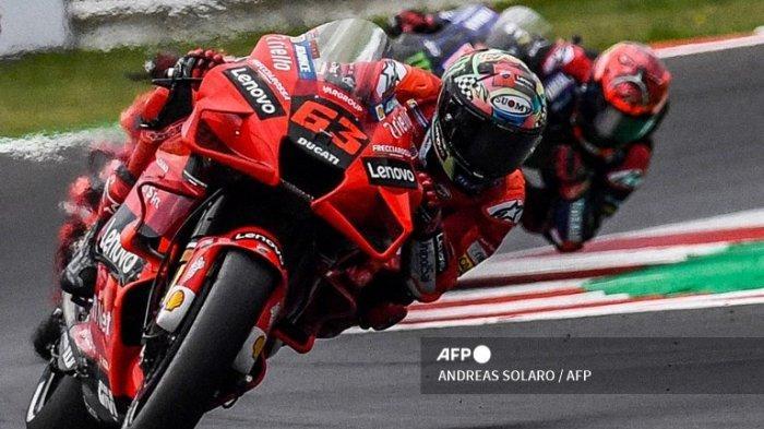 Jadwal MotoGP Akhir Pekan Seri MotoGP Emilia Romagna 2021 Live Trans7, Duel Juara Quartararo Bagnaia