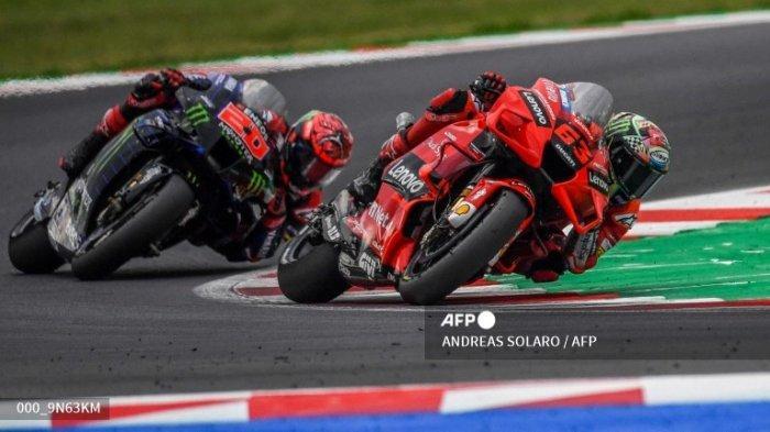 Beda Jam Tayang MotoGP Amerika Dini Hari Pukul 02.00 WIB, Update Klasemen Marquez Vs Bagnaia