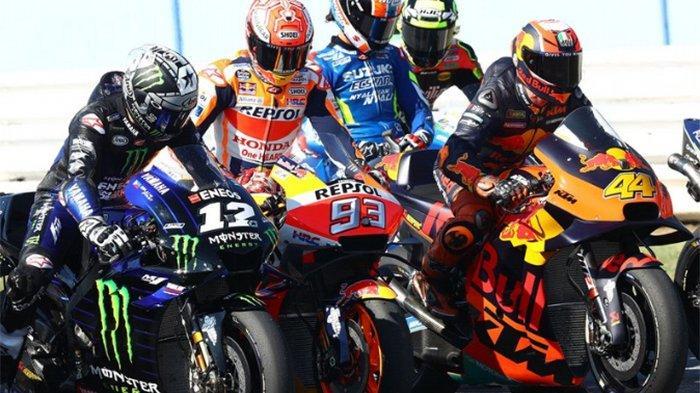 JADWAL MotoGP Aragon 2019 Live Trans7 - Marc Marquez Diambang Juara Dunia, Cek Klasemen MotoGP 2019
