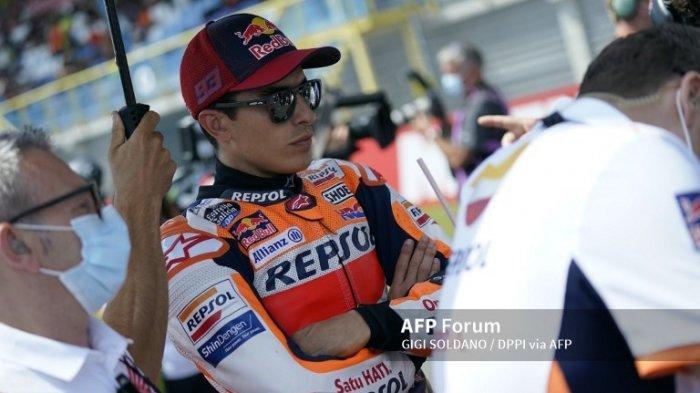 JADWAL MotoGP 2021 Live Trans7 Lengkap Update Kondisi Marc Marquez Jelang MotoGP Styria
