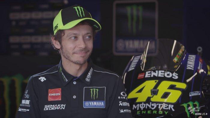 Reaksi Valentino Rossi Setelah Pasti Pisah dengan Monster Energy Yamaha di MotoGP 2021