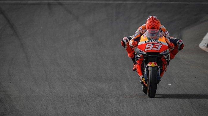 JADWAL MotoGP Live Trans7 Hari Ini - Marquez Hilang Ingatan Usai Kecelakaan di MotoGP Spanyol 2021