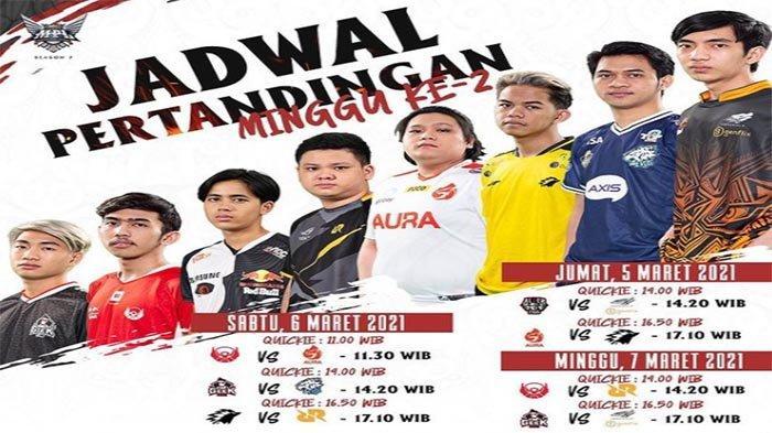 UPDATE Jadwal MPL ID Season 7 Pekan ke-2 5-7 Maret - Laga Penentu Nasib RRQ Hoshi di Klasemen MPL