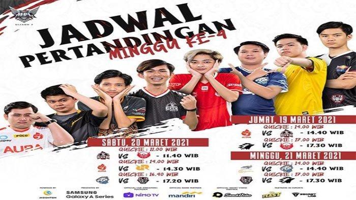 UPDATE Jadwal MPL Season 7 Minggu Keempat Link Live Streaming - Misi Evos Pecahkan Rekor Alter Ego