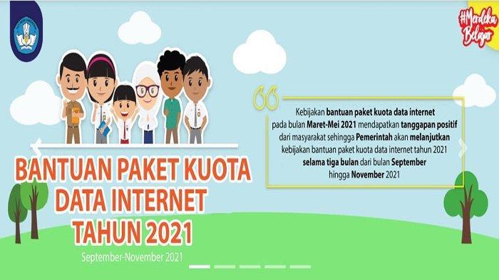 Jadwal Pencairan Kuota Gratis Kemendikbud September 2021, Cek Cara dan Syarat Mendapatkan