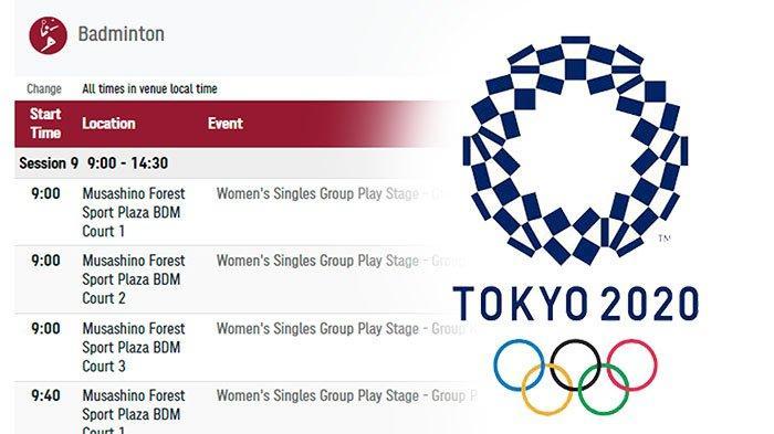 JADWAL Perempat Final Badminton Olimpiade Tokyo 2021, Praveen/Melati Duel Lawan Unggulan Satu Dunia