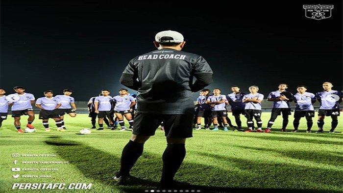 Jadwal Persita Tangerang Babak 8 Besar Liga 2 2019, Pengamat Sepakbola Bung Kus : Waspadai Persik