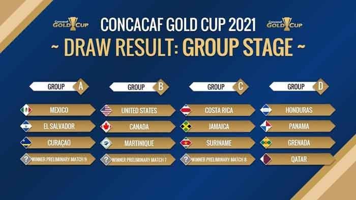 Jadwal Piala Emas CONCACAF 2021 Besok Lengkap Jam Tayang Sabtu 17 Juli 2021 Live Streaming Mola TV