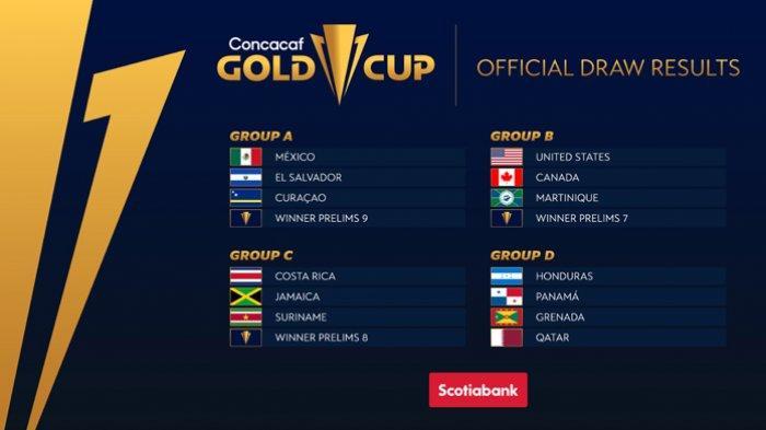 Jadwal Piala Emas CONCACAF 2021 Besok Lengkap Jam Tayang Senin 19 Juli 2021 Live Streaming Mola TV