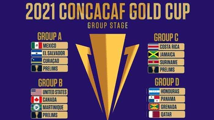 Jadwal Piala Emas CONCACAF 2021 Lengkap Jam Tayang CONCACAF Gold Cup 2021 Live Streaming Mola TV