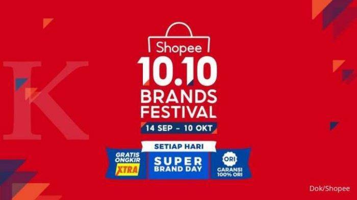 JADWAL Promo Shopee Kampanye 10.10 Brands Festival Mulai 21 September, Gratis Ongkir hingga Garansi