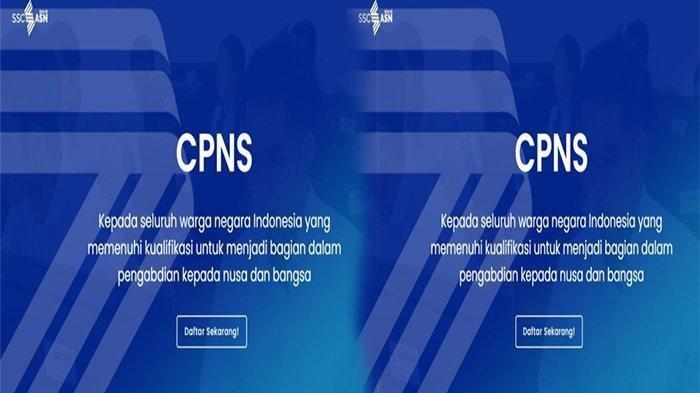 JADWAL Seleksi CPNS 2021, Cek Cara Membuat Akun CPNS 2021 di sscans.bkn.go.id 2021